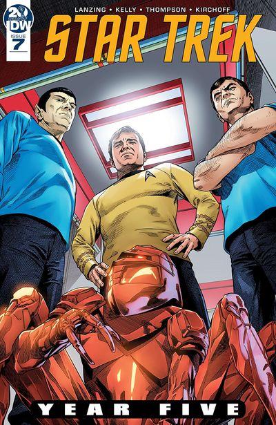 Star Trek – Year Five #7 (2019)