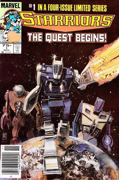 Starriors #1 – 4 (1984-1985)