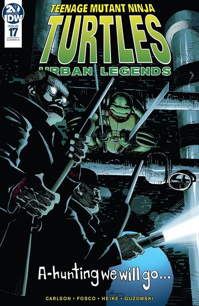 Teenage Mutant Ninja Turtles – Urban Legends #17 (2019)