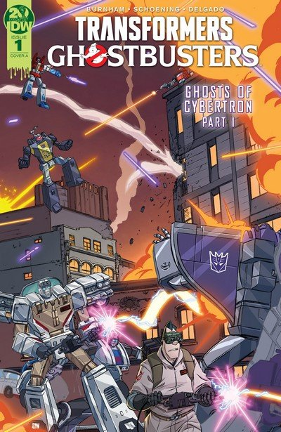 Transformers – Ghostbusters #1 – 5 (2019)