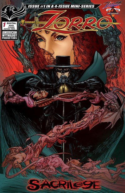 Zorro – Sacrilege #1 – 4 (2019)