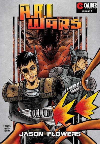 A.A.I. Wars #1 – 4 (2019)
