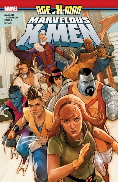 Age Of X-Man – The Marvelous X-Men (TPB) (2019)
