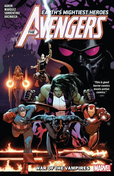 Avengers by Jason Aaron Vol. 3 – War of the Vampires (TPB) (2019)