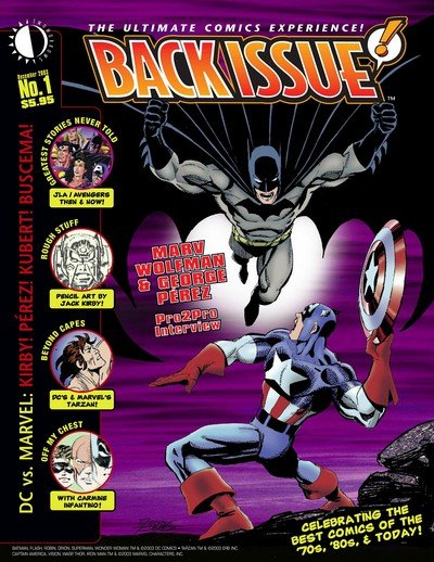 Back Issue #1 – 120 (2004-2020)