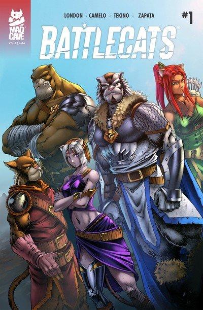 Battlecats Vol. 2 #1 – 6 (2019)