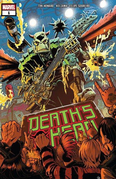 Death's Head #1 – 4 (2019)