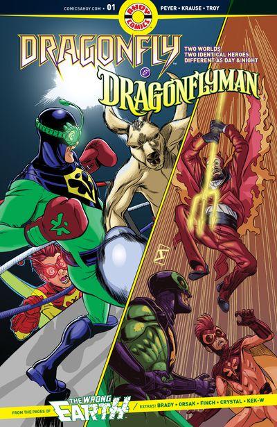 Dragonfly And Dragonflyman #1 (2019)
