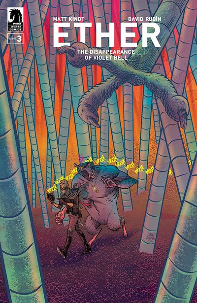 Ether – The Disappearance Of Violet Bell #3 (2019)