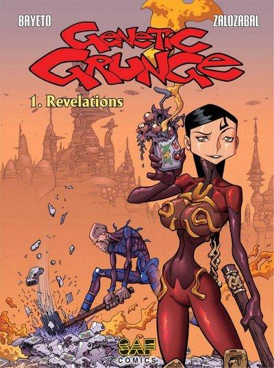 Genetic Grunge #1 – 2 (2019) (SAF Comics)