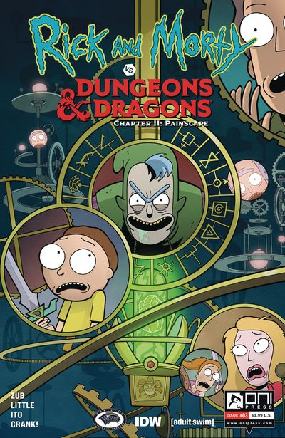 Rick And Morty Vs Dungeons And Dragons II – Painscape #3 (2019)