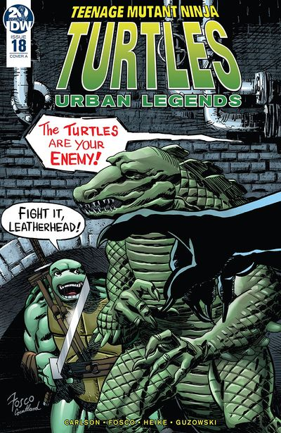 Teenage Mutant Ninja Turtles – Urban Legends #18 (2019)