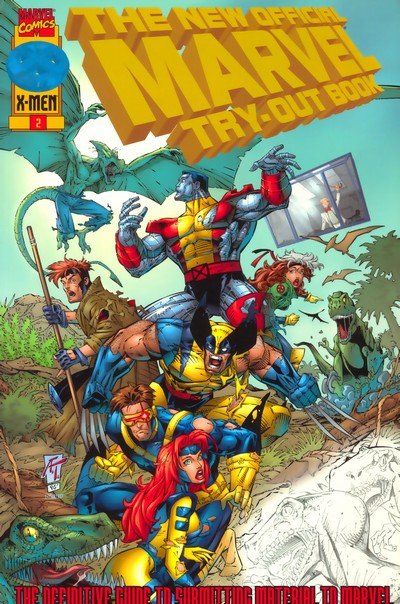 The New Official Marvel Try-Out Book (1996)