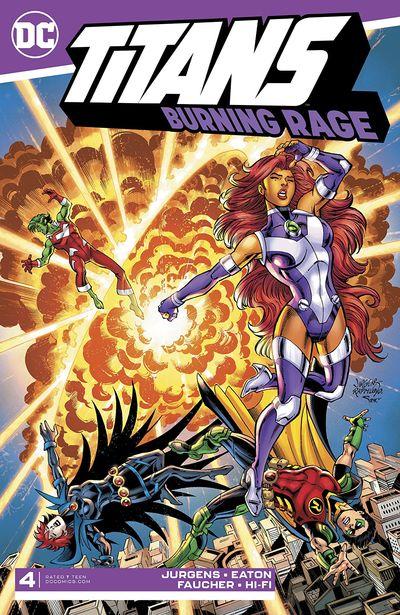 Titans – Burning Rage #4 (2019)