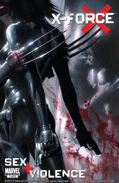 X-Force – Sex and Violence #1 – 3 (2010)
