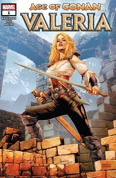 Age of Conan – Valeria #1 – 5 (2019)