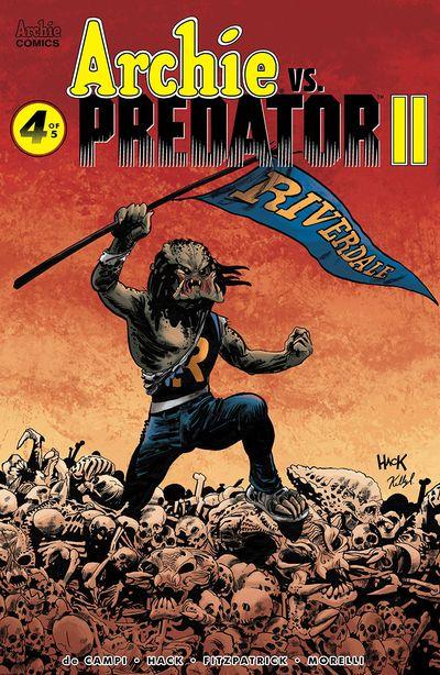 Archie Vs Predator Vol. 2 #4 (2019)