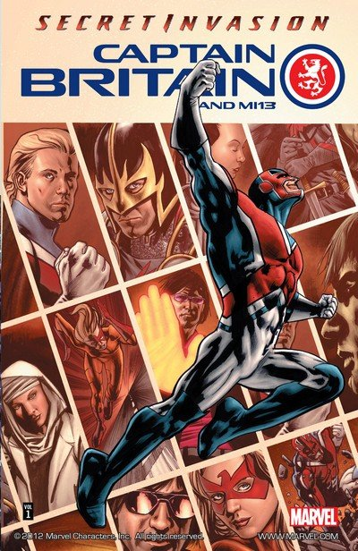 Captain Britain and MI – 13 Vol. 1 – 3 (TPB) (2009-2014)