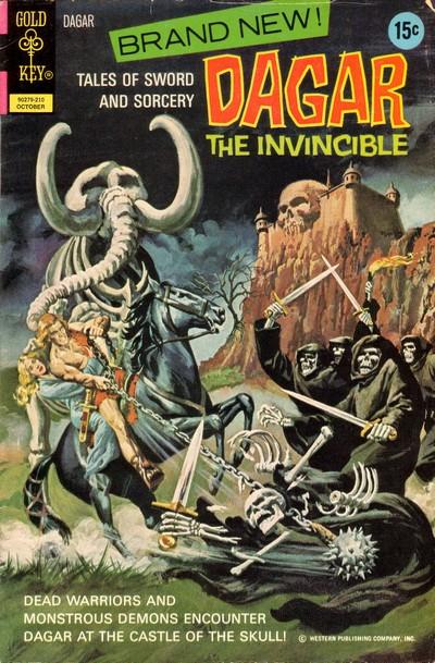 Dagar the Invincible #1 – 19 (1972-1982)