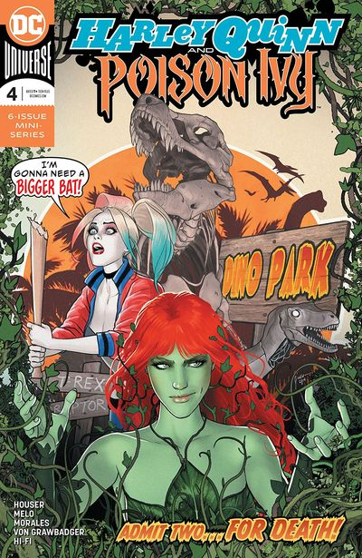 Harley Quinn And Poison Ivy #4 (2019)