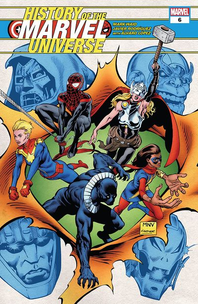 History Of The Marvel Universe #6 (2019)