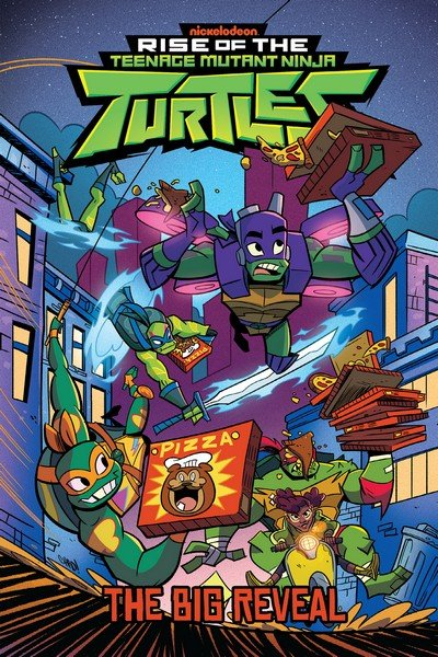 Rise of the Teenage Mutant Ninja Turtles – The Big Reveal (TPB) (2019)