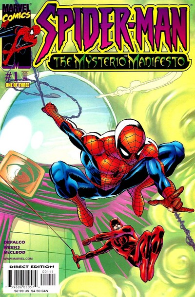 Spider-Man – The Mysterio Manifesto #1 – 3 (2001)