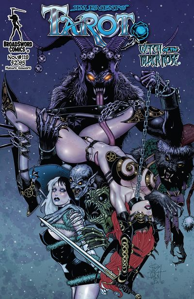 Tarot – Witch of the Black Rose #119 (2019)