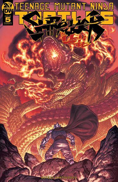 Teenage Mutant Ninja Turtles – Shredder In Hell #5 (2019)