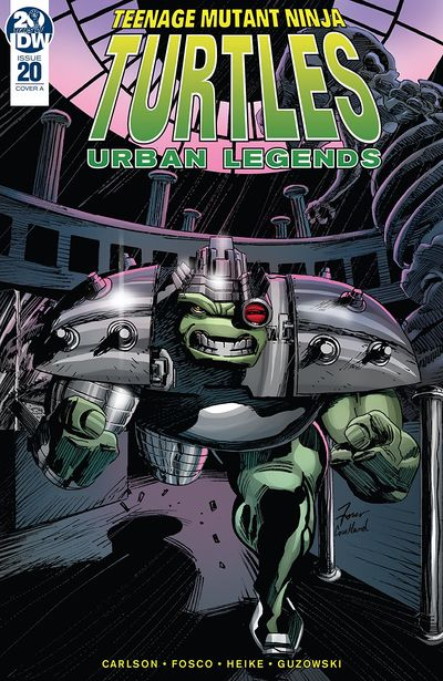Teenage Mutant Ninja Turtles – Urban Legends #20 (2020)