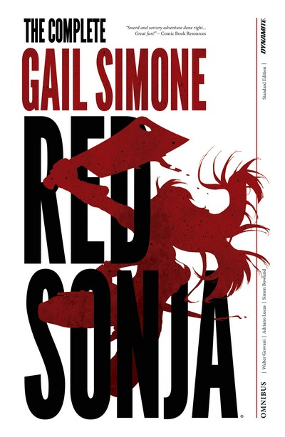 The Complete Gail Simone Red Sonja – Omnibus (2019)