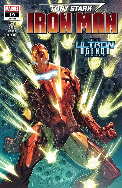 Tony Stark – Iron Man #19 (2019)