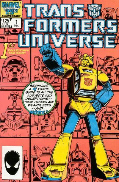 Transformers Universe #1 – 4 (1986-1987)