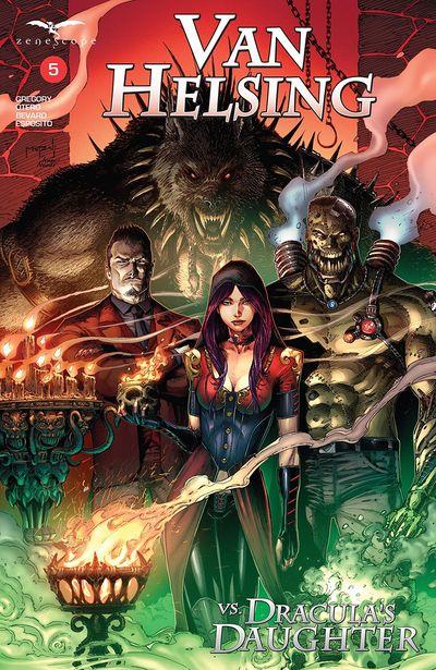 Van Helsing Vs Dracula's Daughter #5 (2020)