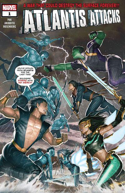Atlantis Attacks #1 (2020)