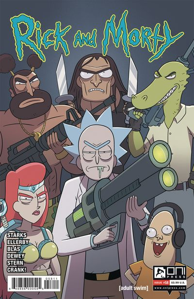 Rick And Morty #58 (2020)