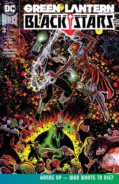 The Green Lantern – Blackstars #3 (2020)