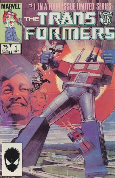 Transformers #1 – 80 (1984-1991) (Marvel Comics)
