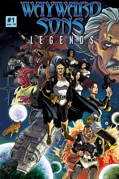Wayward Sons – Legends #1 – 22 (2010-2012)