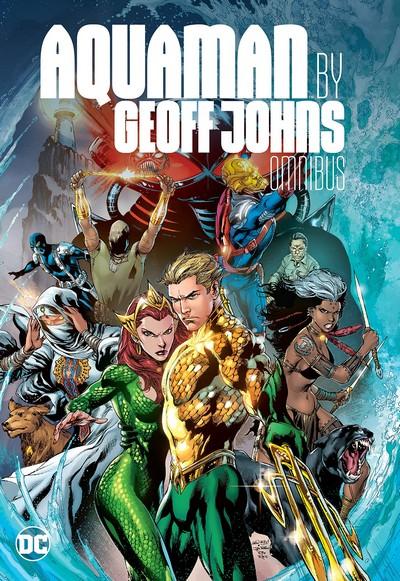 Aquaman by Geoff Johns Omnibus (Fan Made) (2018)