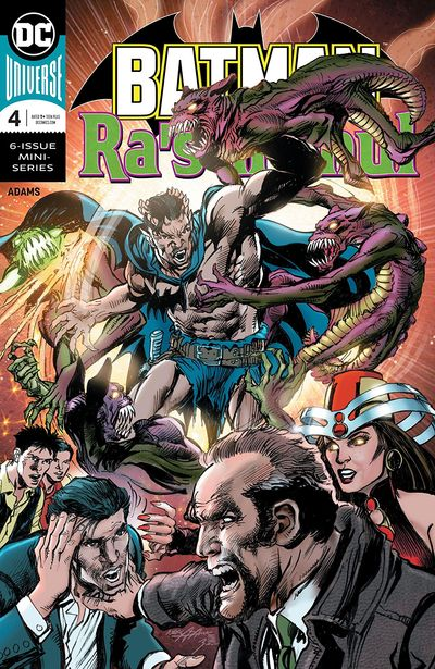 Batman Vs Ra's al Ghul #4 (2020)