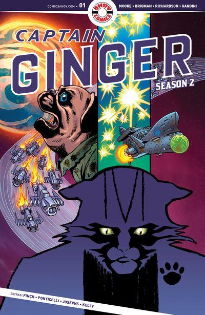 Captain Ginger Season 2 #1 (2020)