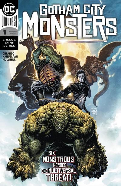 Gotham City Monsters #1 – 6 (2019-2020)