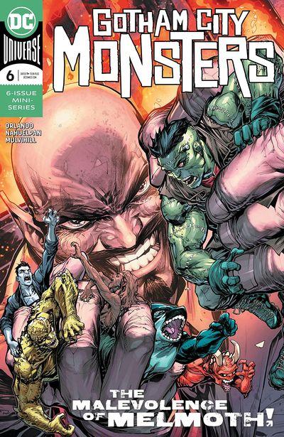 Gotham City Monsters #6 (2020)