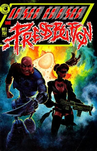 Laser Eraser & Pressbutton #1 – 6 (1985-1986)