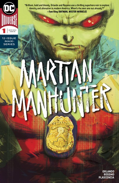 Martian Manhunter Vol. 5 #1 – 12 (2018-2020)
