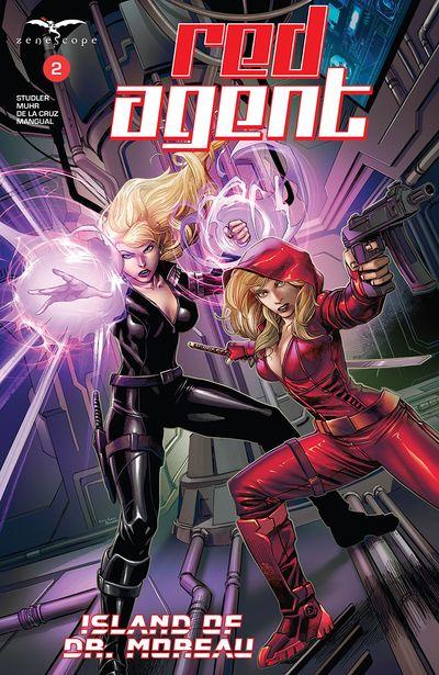 Red Agent – Island Of Dr. Moreau #2 (2020)