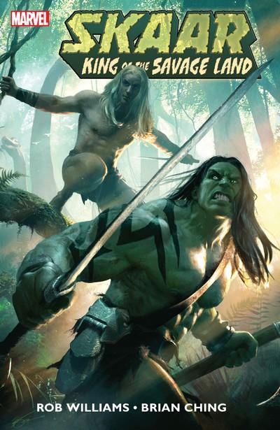 Skaar – King of the Savage Land #1 – 5 + TPB (2011)