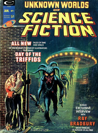 Unknown Worlds of Science Fiction Vol. 1 #1 – 6 (1975)