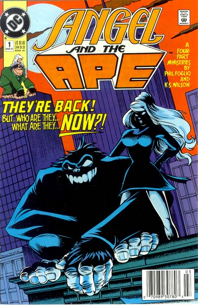 Angel and the Ape #1 – 4 (1991)